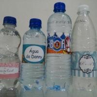 Água personalizada.