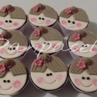 Cupcakes Tema Bailarina