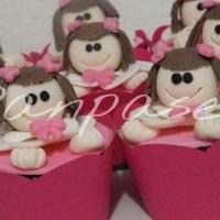 Cupcakes Tema Bonecas