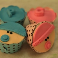 Cupcake Chá de Bebe