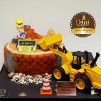 Bolo Construção Civil