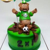 Bolo Futebol- Palmeiras