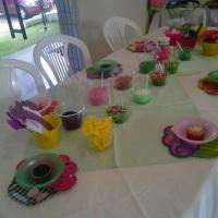 Oficina de cup cake infantil