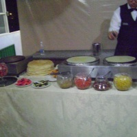 Buffet de crepe frances