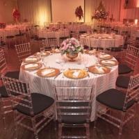Decoração de casamento/ mesa de convidados