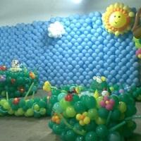 paredes com balões