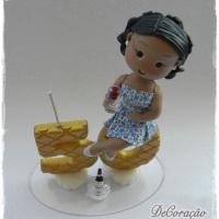 Topo de Bolo Biscuit Personalizado!!  Consulte-nos! Whatsapp: (22) 99738-5316 *Liz