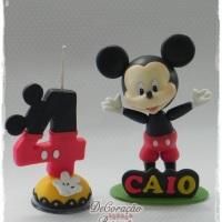 Topo de Bolo - Mickey Personalizado Consulte-nos! Whatsapp: (22) 99738-5316 *Liz