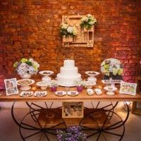 Casamento em tons lilás