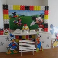 Decoração Clean Mickey