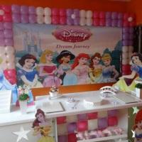Decoração Clean Princesas