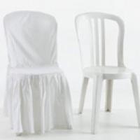 cadeira com e sem capa matelassê
