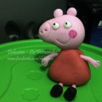 Peppa Pig comestível