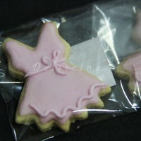 Biscoito decorado tema bailarina
