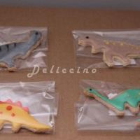 Biscoito decorado tema dinossauros