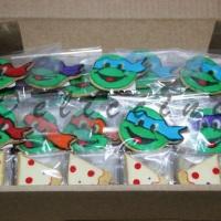 Biscoito decorado Tartarugas Ninja