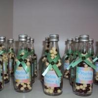 Garafinhas com bolinhas de chocolate