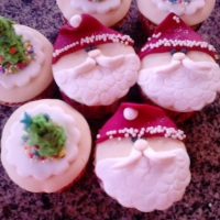 Cup cake 3d Natal