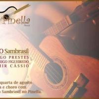 Trio Sambrasil no Pinella Café