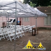 Tendas 6x3 Transparentes em evento particular. Acesse nosso site para mais fotos.