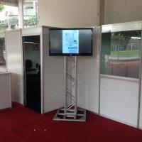 Locação de Tvs para stands