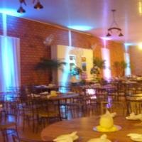 iluminação decorativa no salão