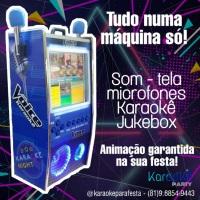 Karaokê e Jukebox numa máquina Só!