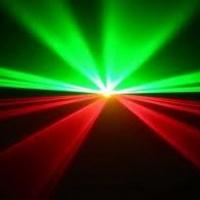 Super Laser verde e vermelho