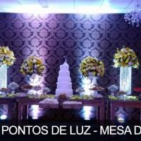 Iluminação Mesa do Bolo(decoração)