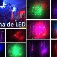 curtina de LED