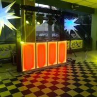 CABINE DJ LED