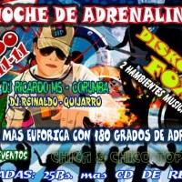 noite adrenalina - fox - Bolivia