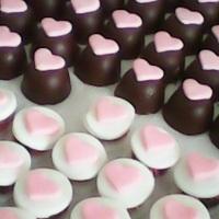 Bombons de Chocolates com recheios trufados
