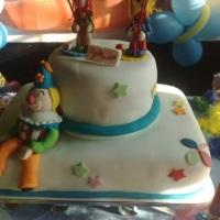 bolo temático(palhaço)