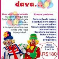 banner DOCE VIDA festas infantis