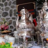 Mesa de Chá e Café