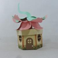 caixa casa fada, ótima lembrancinha para seus convidados levarem um pouco de magia e encantamento de