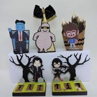 """Halloween chegando e olha este kit no tema  """"Hotel Transylvania"""" para decorar  sua festa."""