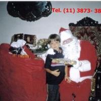 Papai Noel para entrega de presentes