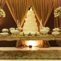 Destaque nas mesas de bolo
