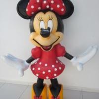 Minnie - isopor com fibra de vidro