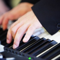 Piano digital.