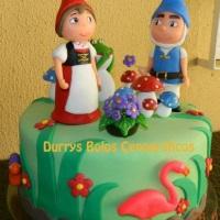 Bolo Gnomeu e Julieta