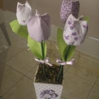 Vaso Flores Perfumadas (Lilás)