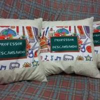Almofada em tecido personalizada