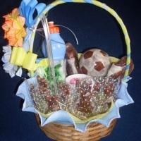 cesta de chocolate R$ 130,00