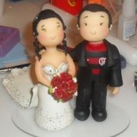 Noivinhos , noivo flamenguista