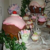 cupcakes de biscuit
