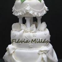 Bolo da Flavia Millas