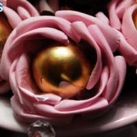 Rosa com trufa